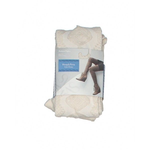 Simply Vera Vera Wang Tights (7.595 CLP) ❤ liked on Polyvore featuring intimates, hosiery, tights, tan, tan stockings, tan tights, simply vera and simply vera tights