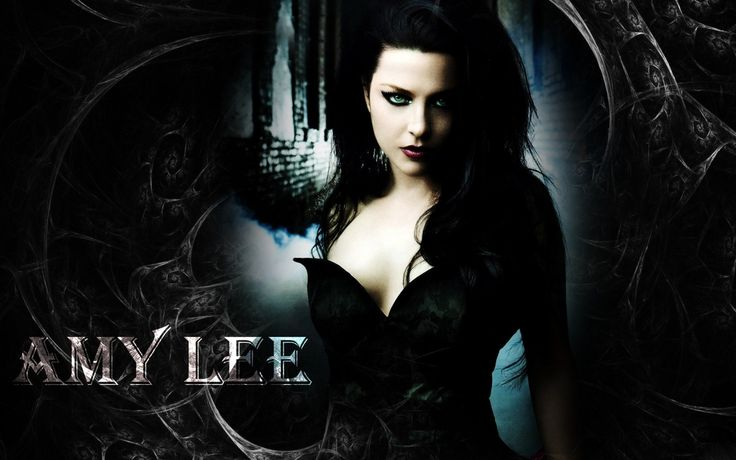 dress black hair midnight Evanescence girl darkness graphics computer wallpaper goth subculture name cg artwork
