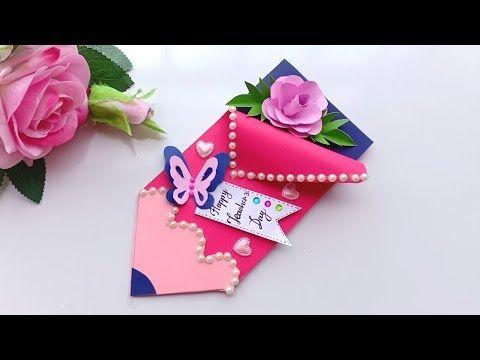 Diy Teacher S Day Card Handmade Teachers Day Card Making Idea Youtube Handmade Teachers Day Cards Teachers Diy Teachers Day Greeting Card