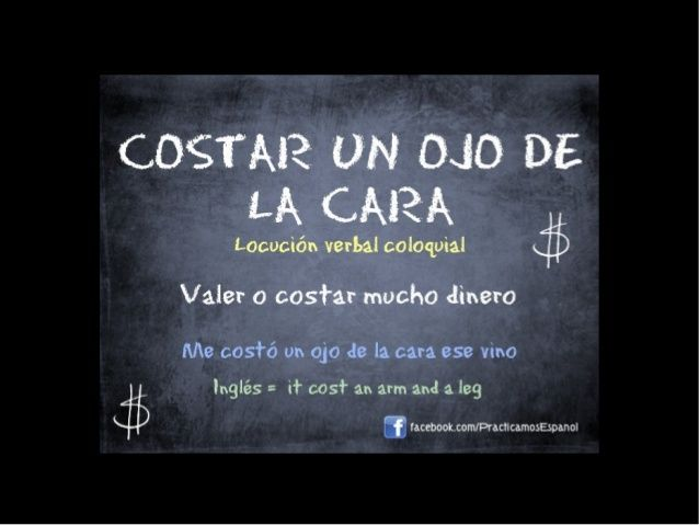 Expresiones coloquiales en español