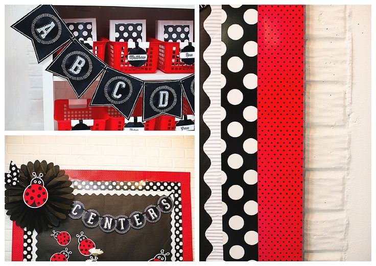Chalkboard and Polka Dot Inspiration: Two years ago, I created the first chalkboard classroom decor collection! There wasn't anything on the market like it. I was SO proud and so excited to offer this classroom classic! Fast forward to now, there are several chalkboard collections on the market that you could choose from, however, none of them are a traditional black and white theme. Black and white is SO simple,