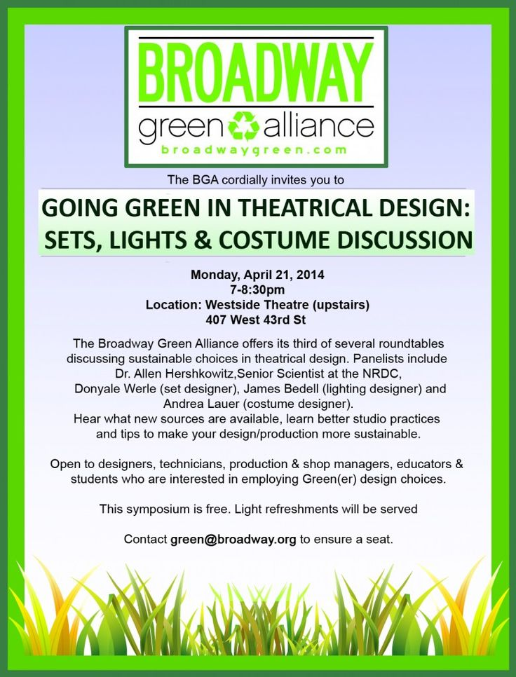 Look out for our next sustainable design workshops!
