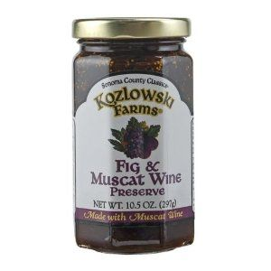 Fig and Muscat Wine Preserves. So delicious!