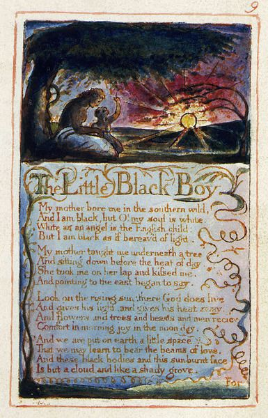 theme for english b essay  little black boys william blake paintings  william blake art english poets songs