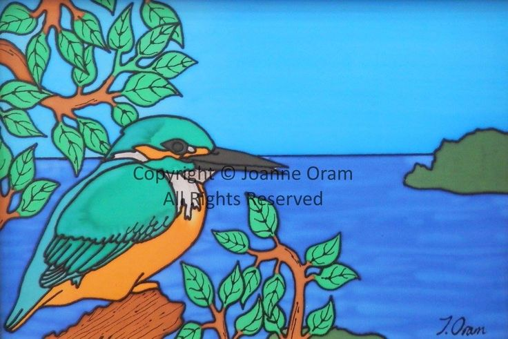 NZ kingfisher painted on silk. Available to buy on prints, pillows, cards and much more shop online at www.naturespalette.co.nz
