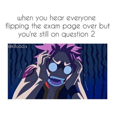 bahahahaha me on every quiz test or assignment ever