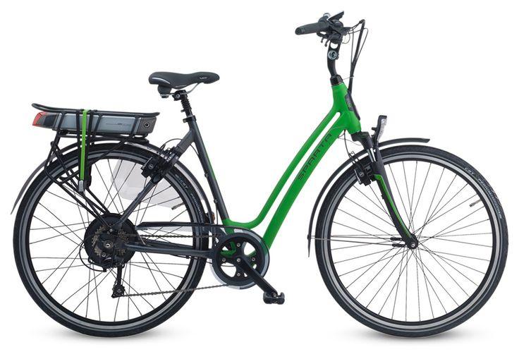 Korting € 625,--  Sportieve Sparta elektrische fiets met ion technologie.