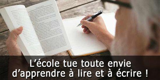 Apprendre à lire et à écrire