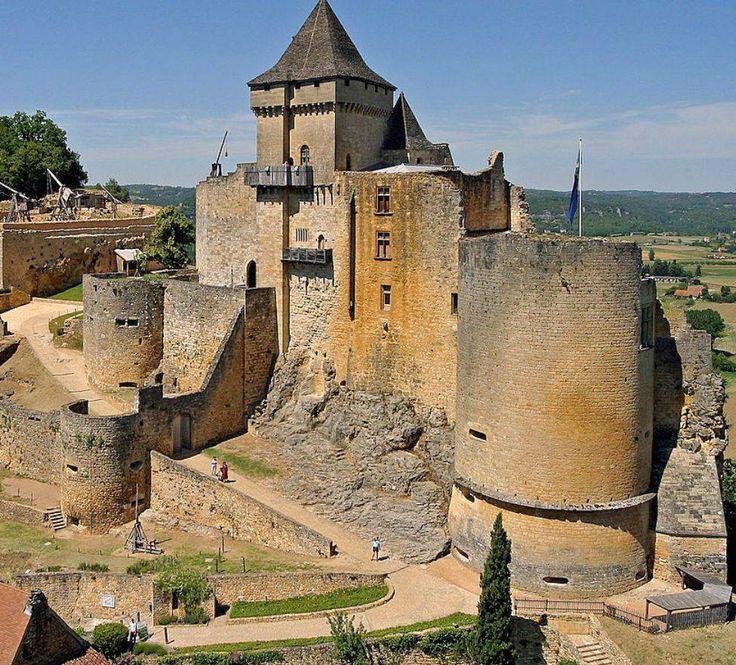 Castel of Castelnaud - France