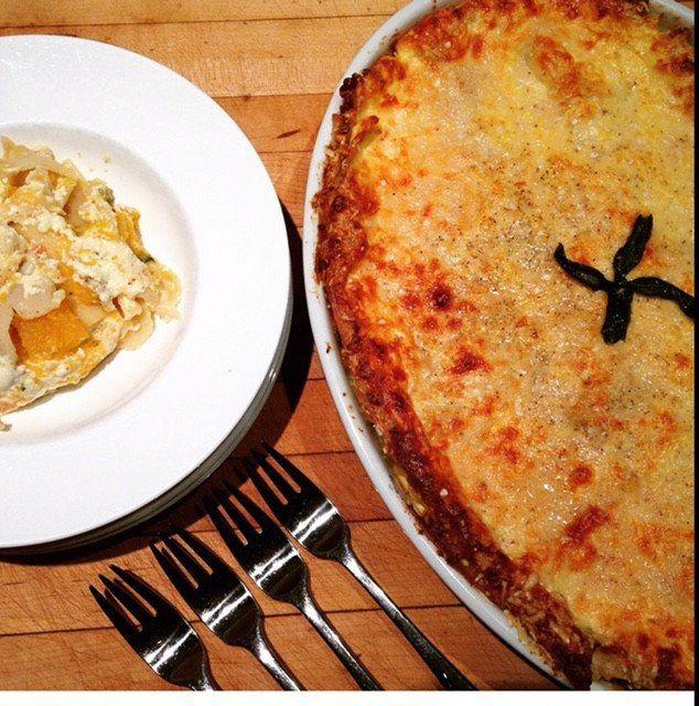 Martha Stewart's Butternut Squash and Sage Lasagna