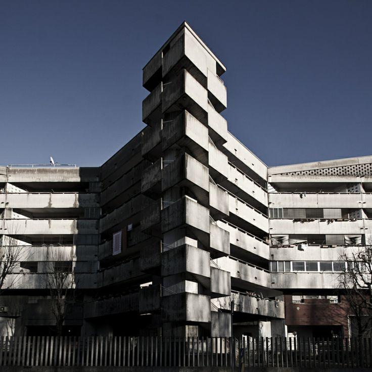 Complesso IACP, Bollate (Milan), Guido Canella/Antonio Maresca, 1976-80. Picture…