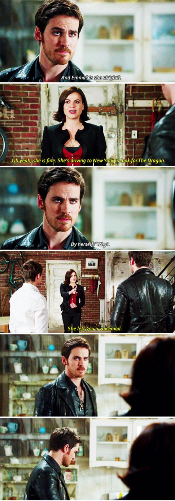 "Killian Jones and Evil Queen - 6 * 8 ""I'll be your mirror"" #Snowing"