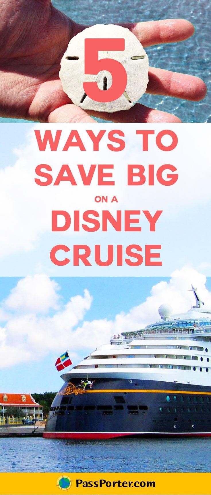 Five ways to save on your next Disney Cruise Line vacation! | Disney Cruise Line | PassPorter.com