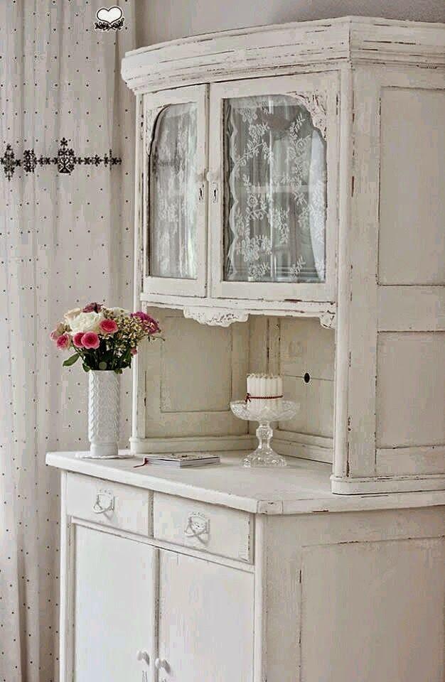 Las 25 mejores ideas sobre alacena blanca en pinterest for Alacenas vintage