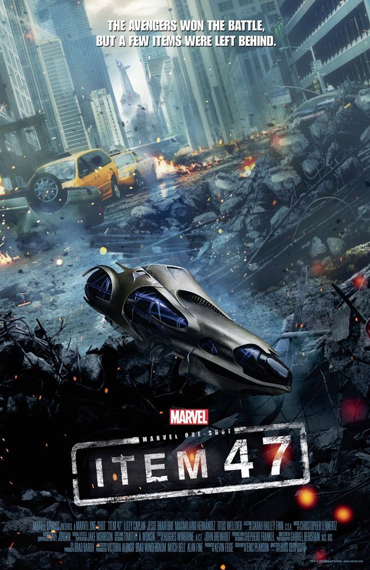 Check out the new poster for Marvel's 'Avengers' short 'Item 47'