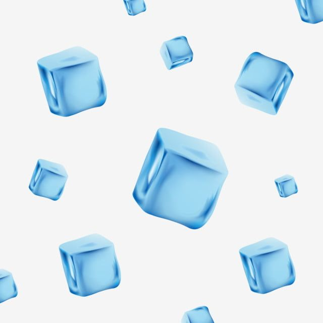Creative Ice Cubes In Blue Tone Vector And Png Creative Ice Cubes Blue Tones Ice Clipart