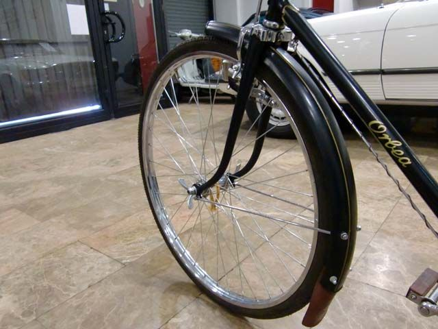 Bicicleta orbea a os 50 frenos de varilla faro cromado for Bicicletas antiguas nuevas
