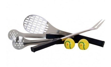 5-Piece Tennis-Themed Barbecue Set