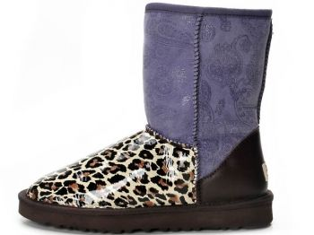 Uhh, again... What was this designer thinking!?! They must've been #outofthisworld. #funky #purple #cheetah #ugg #uglyboots    Ugg Outlet Online Store, UGGs Outlet Online Store