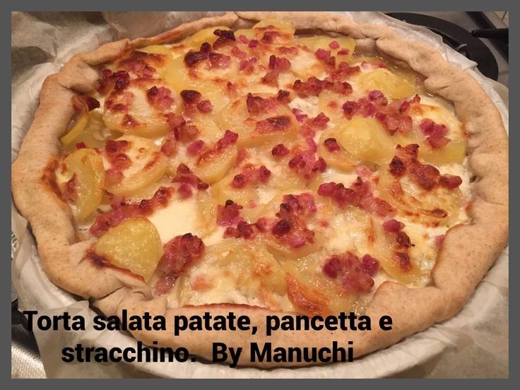 TORTA+SALATA+CON+PATATE,+PANCETTA+E+STRACCHINO