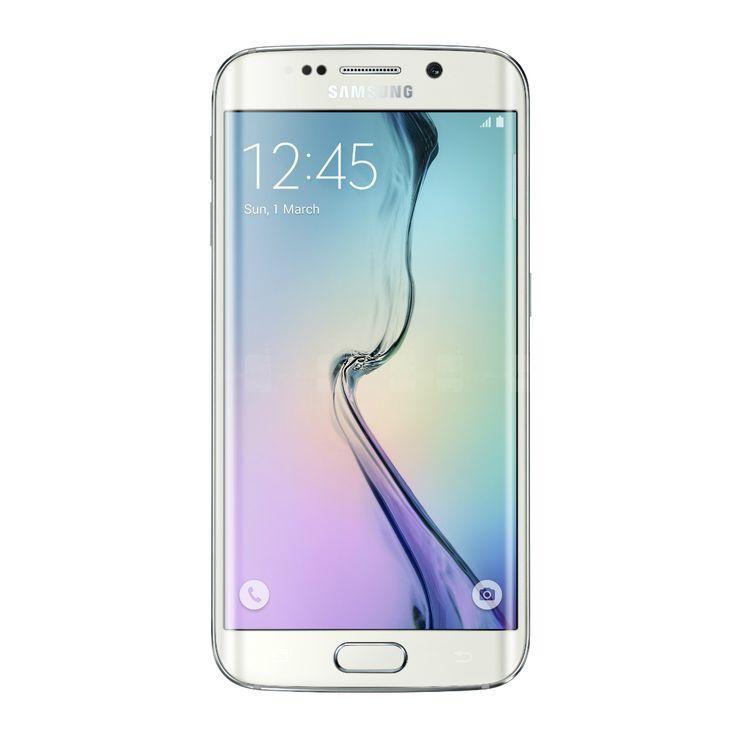 Image of Samsung Galaxy S6 edge G9250 32GB Cell Phone (SIM Free & Unlocked) - White