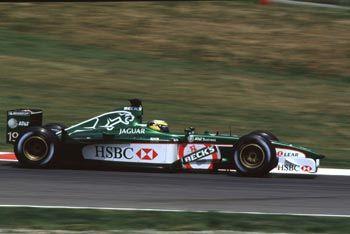 2001 Jaguar Cosworth De la Rosa España