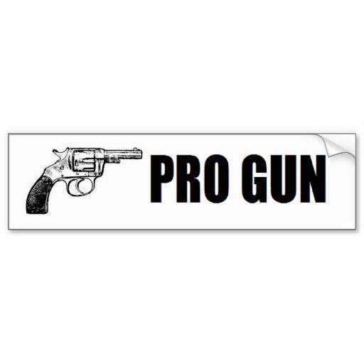 Pro-life. Pro-God. Pro-Gun American Bumper Sticker | Zazzle |Gun Bumper Stickers