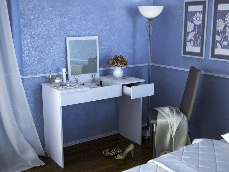Туалетный столик с зеркалом Риано-2 Белый