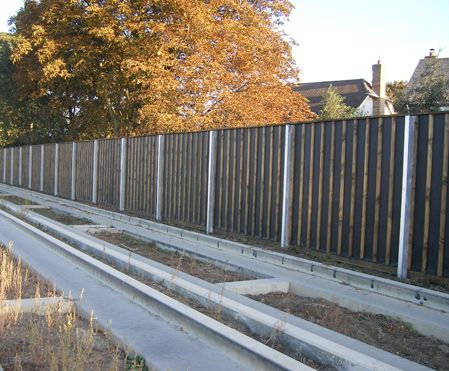 acoustic fencing can make a great deal of difference