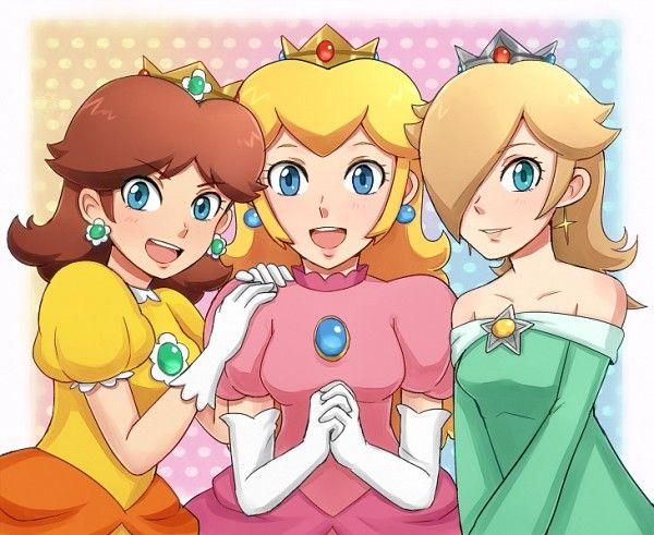42 best The three princesses images on Pinterest  Super mario