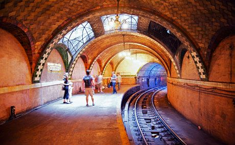 The majestic subway station underneath City Hall has been inactive for nearly 65 years, closing for good on December 31, 1945