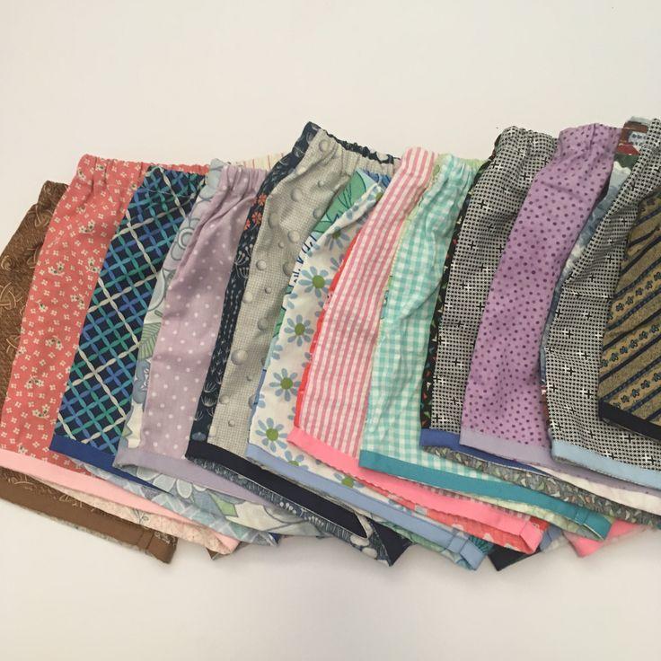 Lu shorts  OOAK vintage modern handmade