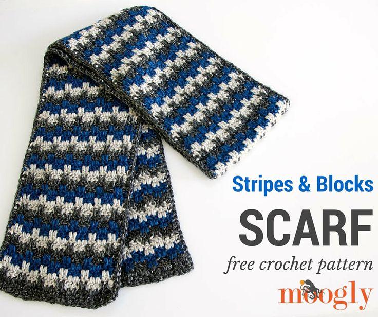 47 best Crochet Scarf Men images on Pinterest | Crochet scarfs, Head ...