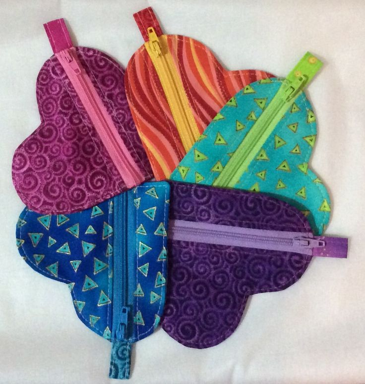 And now there is 5. Heart shaped pouch.