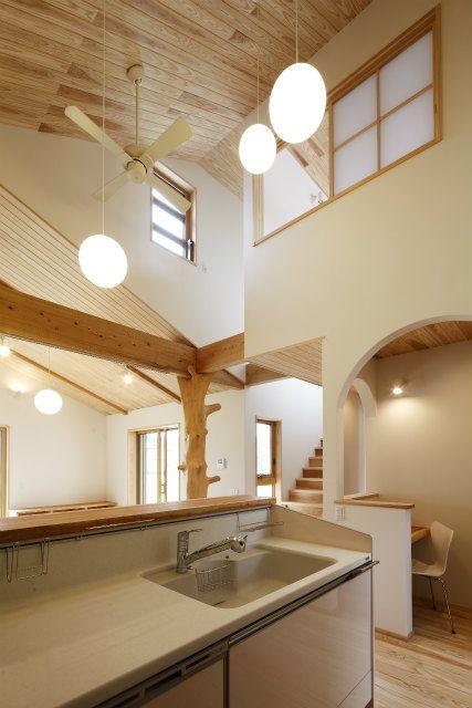 出水の山の木で建てる家~ff~