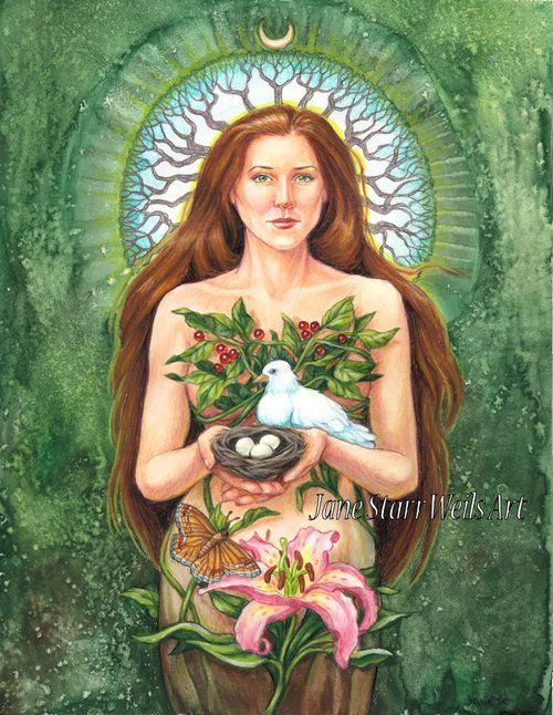 2aa40d8d2caff Pin by Love and Light on Earth Mother in 2019 | Goddess art, Earth ...