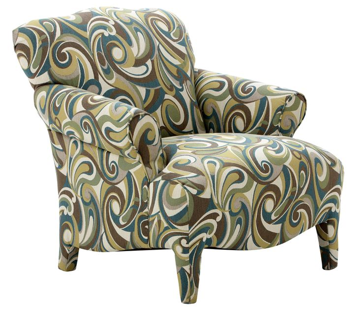 The Serena-II accent chair has great style lines that