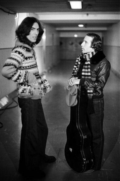 George Harrison et Paul Simon