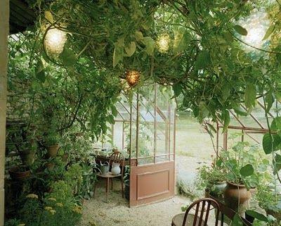 charming greenhouse
