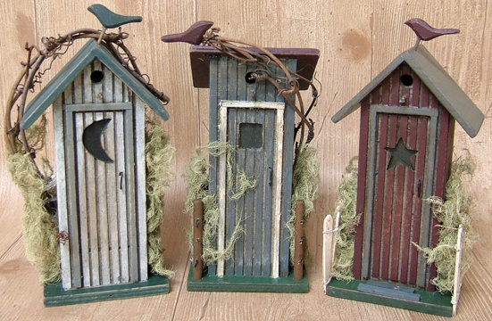 For my outhouse themed bathroom!