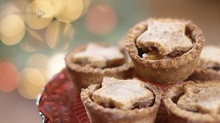 Food blogger Deliciously Ella shows you how to make gluten-free mince pies, with a delicious pastry made from dates and almonds.