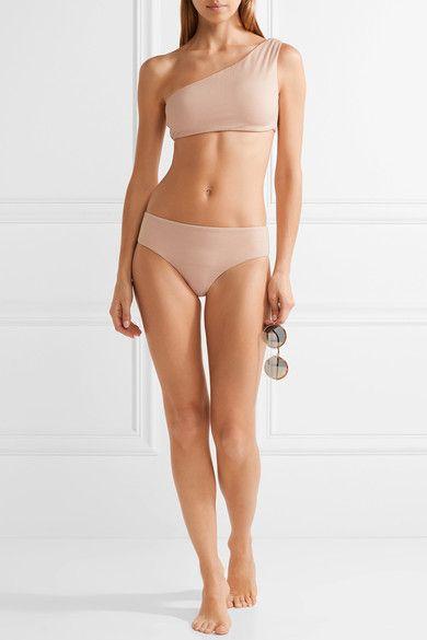 Cali Dreaming - Exclusive Sombrero And Nova One-shoulder Bikini - Neutral - x small
