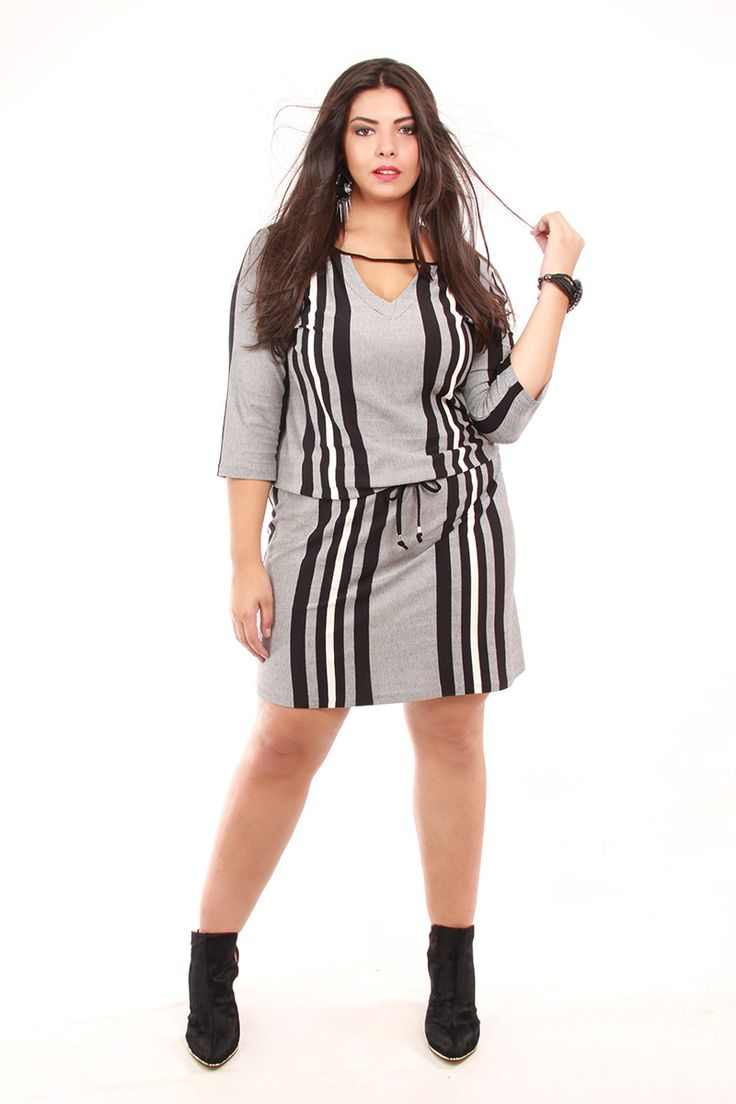 Vestido Kauê Plus size , New Derr winter 2015