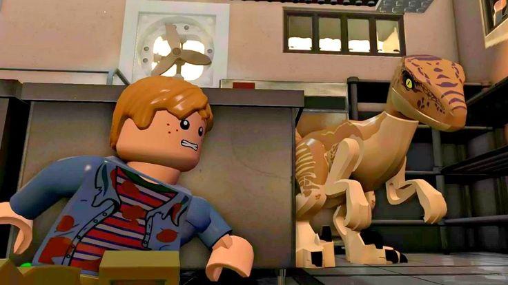 Lego Jurassic World.Затерянный Мир.Игры и Мультики про Динозавров.Парк Ю...