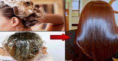 Приготовь эту волшебную маску для волос, нанеси на 15 минут. Ты поразишься эффекту! | Женская страничка