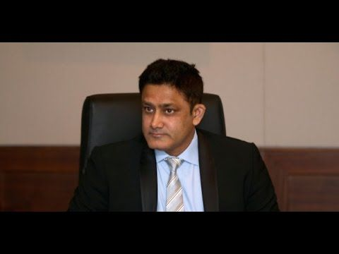 Indian Cricket Team - Head coach Anil Kumble Addresses the Media here at...