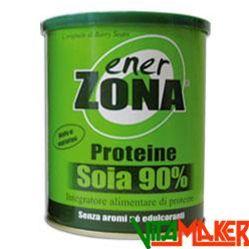 ShopMaker : PROTEINE SOIA 90% by ENERZONA. Proteine della soia secondo lo schema a zona 40-30-30. Per chi si allena e vuole una fonte proteica vegetale. Sconto 20%. Spedizione gratuita. #proteine #integratori #vitamaker #integratorialimentari #integratorisportivi #soia #dietazona #enerzona
