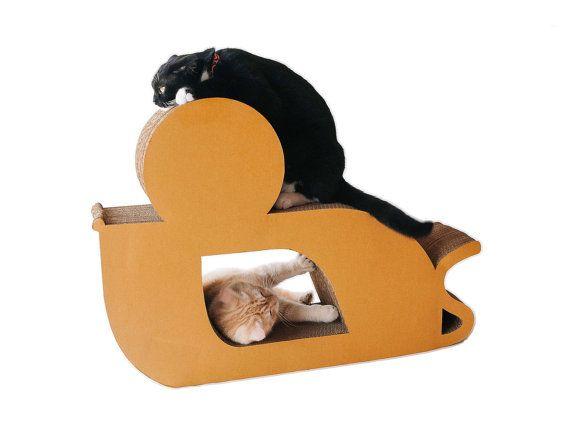 KAFBO Cat Scratching Furniture Mouse shape size L
