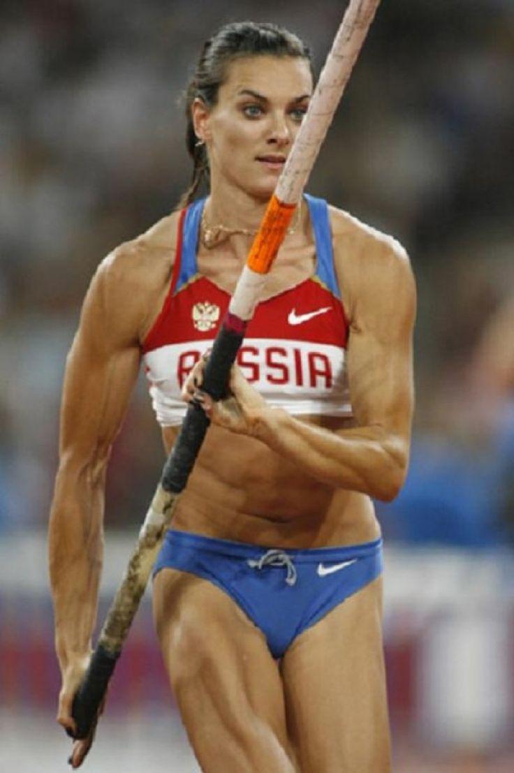 Yelena Isinbayeva - awesome valulter
