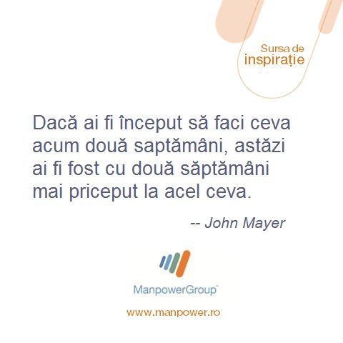 John Mayer - Despre actiune